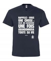 """T-shirt """"Celui qui abandonne"""""""